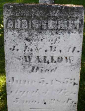 SWALLOW, ADDISENMET ? - Montgomery County, Ohio | ADDISENMET ? SWALLOW - Ohio Gravestone Photos