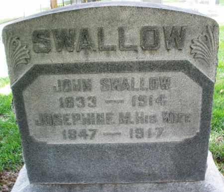 SWALLOW, JOHN - Montgomery County, Ohio | JOHN SWALLOW - Ohio Gravestone Photos