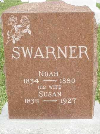 SWARNER, NOAH - Montgomery County, Ohio | NOAH SWARNER - Ohio Gravestone Photos