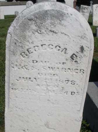 SWARNER, REBECCA E. - Montgomery County, Ohio | REBECCA E. SWARNER - Ohio Gravestone Photos