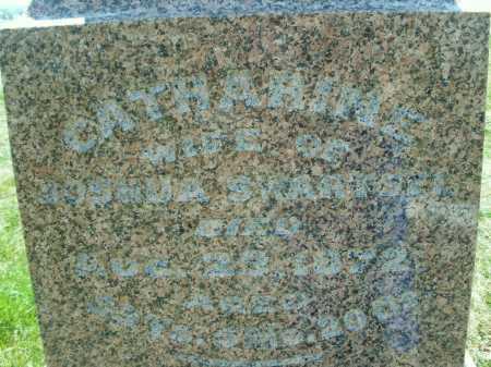 SWARTSEL, CATHARINE - Montgomery County, Ohio | CATHARINE SWARTSEL - Ohio Gravestone Photos