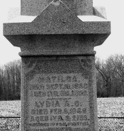 SWARTZEL, LYDIA A.G. - Montgomery County, Ohio   LYDIA A.G. SWARTZEL - Ohio Gravestone Photos