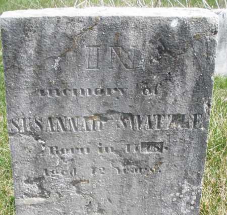 SWARTZEL, SUSANNAH - Montgomery County, Ohio   SUSANNAH SWARTZEL - Ohio Gravestone Photos