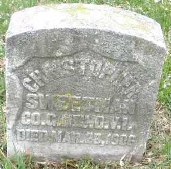 SWEETMAN, CHRISTOPHER - Montgomery County, Ohio   CHRISTOPHER SWEETMAN - Ohio Gravestone Photos