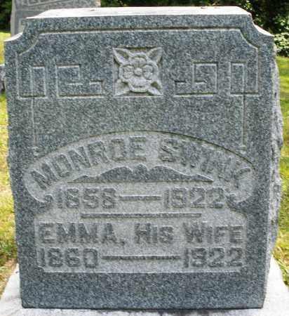 SWINK, EMMA - Montgomery County, Ohio | EMMA SWINK - Ohio Gravestone Photos