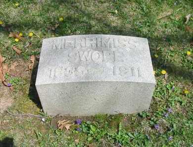 SWOPE, MERRIMISS - Montgomery County, Ohio | MERRIMISS SWOPE - Ohio Gravestone Photos
