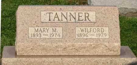 TANNER, MARY M. - Montgomery County, Ohio | MARY M. TANNER - Ohio Gravestone Photos