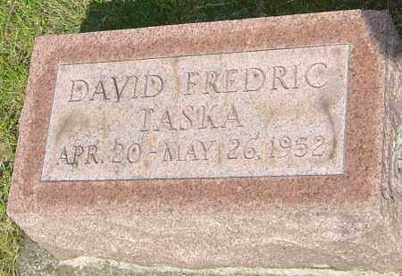 TASKA, DAVID FREDRIC - Montgomery County, Ohio | DAVID FREDRIC TASKA - Ohio Gravestone Photos