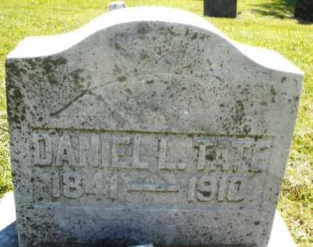TATE, DANIEL L. - Montgomery County, Ohio   DANIEL L. TATE - Ohio Gravestone Photos
