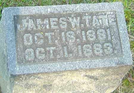 TATE, JAMES W - Montgomery County, Ohio | JAMES W TATE - Ohio Gravestone Photos