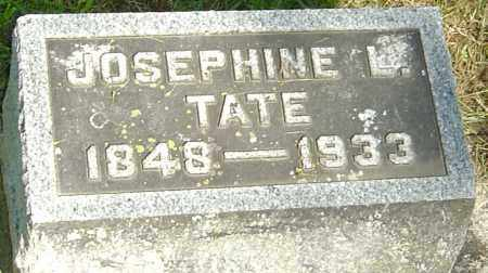 LANSINGER TATE, JOSEPHINE L - Montgomery County, Ohio | JOSEPHINE L LANSINGER TATE - Ohio Gravestone Photos