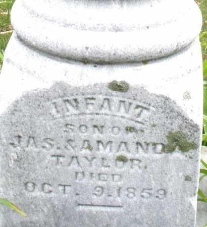 TAYLOR, INFANT - Montgomery County, Ohio | INFANT TAYLOR - Ohio Gravestone Photos