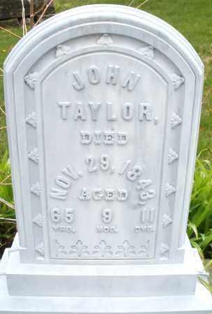 TAYLOR, JOHN - Montgomery County, Ohio   JOHN TAYLOR - Ohio Gravestone Photos