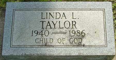 TAYLOR, LINDA L - Montgomery County, Ohio | LINDA L TAYLOR - Ohio Gravestone Photos