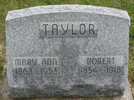 TAYLOR, ROBERT - Montgomery County, Ohio | ROBERT TAYLOR - Ohio Gravestone Photos