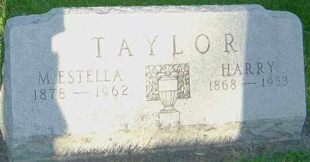 TAYLOR, M ESTELLA - Montgomery County, Ohio | M ESTELLA TAYLOR - Ohio Gravestone Photos