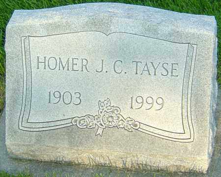 TAYSE, HOMER J C - Montgomery County, Ohio | HOMER J C TAYSE - Ohio Gravestone Photos