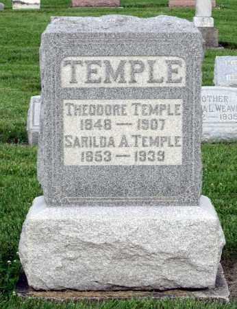 TEMPLE, THEODORE - Montgomery County, Ohio | THEODORE TEMPLE - Ohio Gravestone Photos
