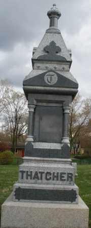 THATCHER, MONUMENT - Montgomery County, Ohio | MONUMENT THATCHER - Ohio Gravestone Photos