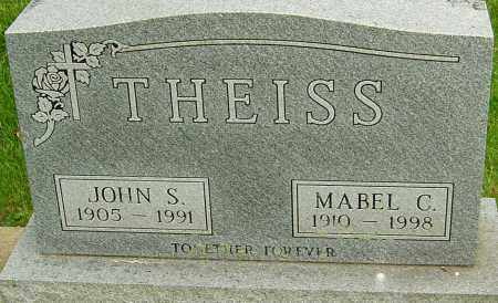 THEISS, MABEL C - Montgomery County, Ohio | MABEL C THEISS - Ohio Gravestone Photos