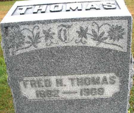 THOMAS, FRED H. - Montgomery County, Ohio | FRED H. THOMAS - Ohio Gravestone Photos