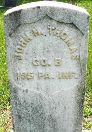 THOMAS, JOHN H. - Montgomery County, Ohio | JOHN H. THOMAS - Ohio Gravestone Photos