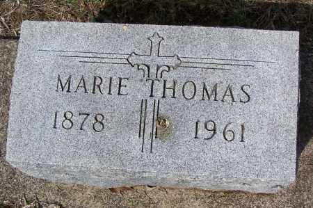 THOMAS, MARIE - Montgomery County, Ohio | MARIE THOMAS - Ohio Gravestone Photos