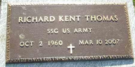 THOMAS, RICHARD KENT - Montgomery County, Ohio | RICHARD KENT THOMAS - Ohio Gravestone Photos