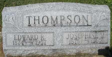 THOMPSON, JOSEPHINE M. - Montgomery County, Ohio | JOSEPHINE M. THOMPSON - Ohio Gravestone Photos