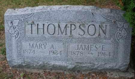 THOMPSON, MARY A. - Montgomery County, Ohio | MARY A. THOMPSON - Ohio Gravestone Photos
