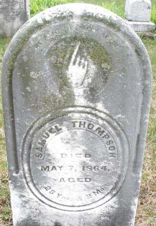 THOMPSON, SAMUEL - Montgomery County, Ohio   SAMUEL THOMPSON - Ohio Gravestone Photos