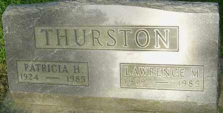 THURSTON, PATRICIA H - Montgomery County, Ohio | PATRICIA H THURSTON - Ohio Gravestone Photos
