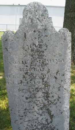 TIBBALS, NOAH - Montgomery County, Ohio   NOAH TIBBALS - Ohio Gravestone Photos