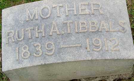 TIBBALS, RUTH - Montgomery County, Ohio   RUTH TIBBALS - Ohio Gravestone Photos