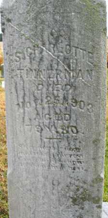 TINNERMAN, S.CHARLOTTE - Montgomery County, Ohio | S.CHARLOTTE TINNERMAN - Ohio Gravestone Photos