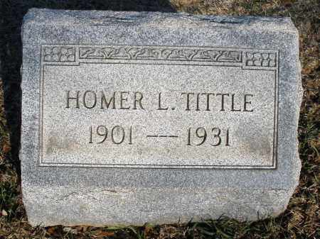 TITTLE, HOMER L. - Montgomery County, Ohio | HOMER L. TITTLE - Ohio Gravestone Photos