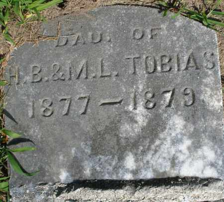 TOBIAS, DAUGHTER - Montgomery County, Ohio   DAUGHTER TOBIAS - Ohio Gravestone Photos