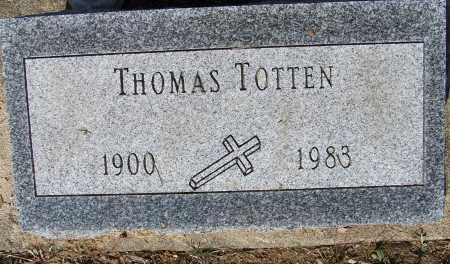 TOTTEN, THOMAS - Montgomery County, Ohio | THOMAS TOTTEN - Ohio Gravestone Photos
