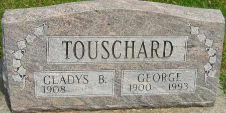 BARR TOUSCHARD, GLADYS - Montgomery County, Ohio | GLADYS BARR TOUSCHARD - Ohio Gravestone Photos