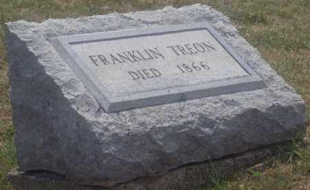 TREON, FRANKLIN - Montgomery County, Ohio | FRANKLIN TREON - Ohio Gravestone Photos