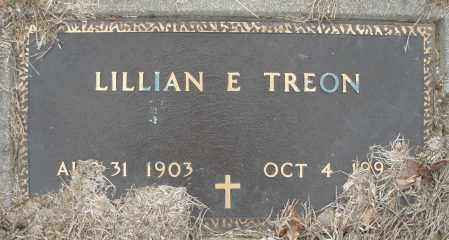 TREON, LILLIAN - Montgomery County, Ohio | LILLIAN TREON - Ohio Gravestone Photos
