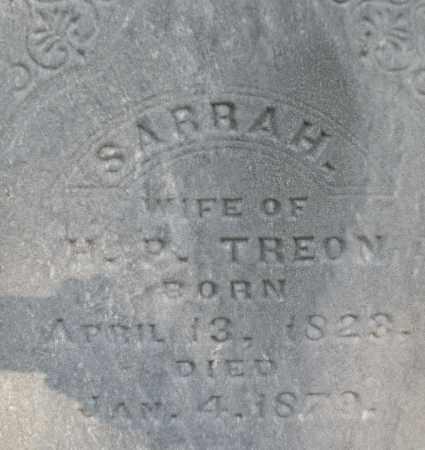 TREON, SARRAH - Montgomery County, Ohio | SARRAH TREON - Ohio Gravestone Photos