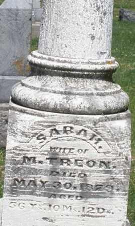 TREON, SARAH - Montgomery County, Ohio | SARAH TREON - Ohio Gravestone Photos
