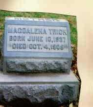 TRICK, MADGELENA - Montgomery County, Ohio | MADGELENA TRICK - Ohio Gravestone Photos