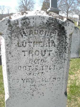 TROUT, ? - Montgomery County, Ohio   ? TROUT - Ohio Gravestone Photos