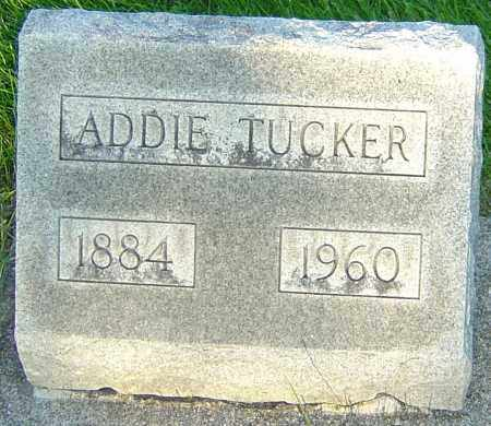 TUCKER, ADDIE - Montgomery County, Ohio | ADDIE TUCKER - Ohio Gravestone Photos