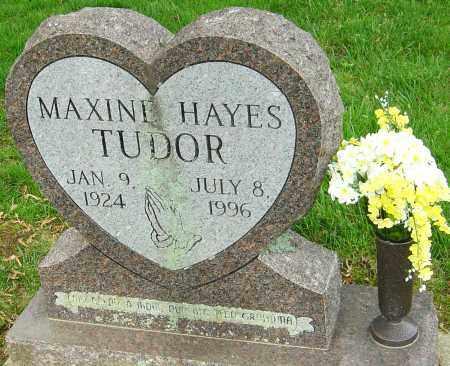 HAYES TUDOR, MAXINE - Montgomery County, Ohio | MAXINE HAYES TUDOR - Ohio Gravestone Photos