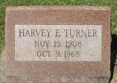 TURNER, HARVEY E. - Montgomery County, Ohio | HARVEY E. TURNER - Ohio Gravestone Photos