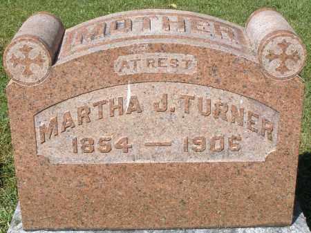 TURNER, MARTHA J. - Montgomery County, Ohio | MARTHA J. TURNER - Ohio Gravestone Photos
