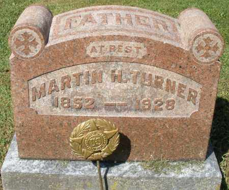 TURNER, MARTIN H. - Montgomery County, Ohio | MARTIN H. TURNER - Ohio Gravestone Photos